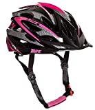 AWE Aerolite Women's Pink Lady Bicycle Helmet – White/Pink, Size 56-58 For Sale