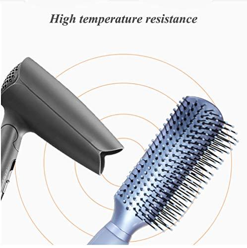 Obvie Hair Styling Brush 9 Rows Hair Brush for Women Long Hair Detangler 1 Pack