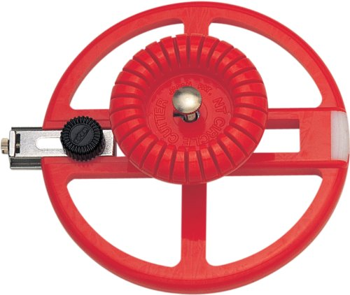 NT Cutter Heavy-Duty Circle Cutter, 1-3/16 Inches 6-5/16 Inches Diameter, 1 Cutter - Cutting Tools Circle