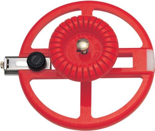NT Cutter Heavy-Duty Circle Cutter, 1-3/16 Inches 6-5/16 Inches Diameter, 1 Cutter (Pro Tile Cutter)