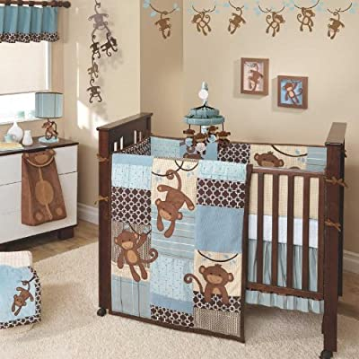 Lambs & Ivy 5 Piece Bedding Set - Giggles from Lambs & Ivy