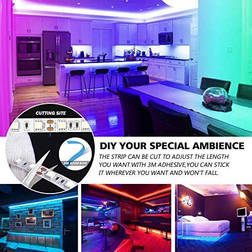 tools, home improvement, lighting, ceiling fans, novelty lighting,  led strip lights 11 on sale Nexillumi LED Strip Lights 16.4 Foot/5M deals