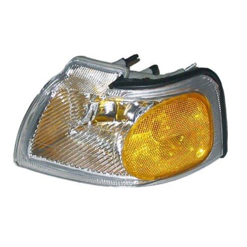 (Aftermarket Auto Parts 1996-1997 Ford Thunderbird & Mercury Cougar Corner Park Light Turn Signal Marker Lamp Left Driver Side (96 97))