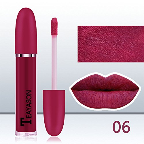 Sussmai New Long Lasting Lipstick Waterproof Matte Liquid Lip Gloss Lip Liner Cosmetics
