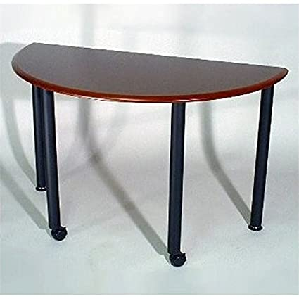 Amazoncom Mayline Conference And Training Tables Encounter - Half circle conference table