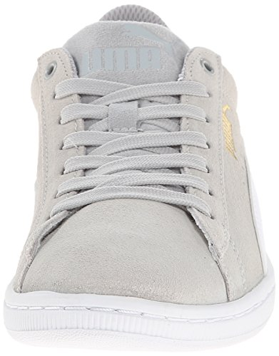Puma Vikky zapatilla de deporte de moda Gray Violet-White