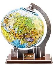 Juiet Educatief 3D Globe Aardrijkskunde Puzzelspeelgoed Voor Peuters Kinderen - Ideaal Leergeschenk