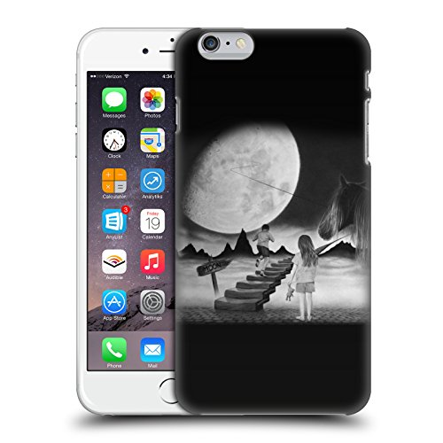 Officiel Graham Bradshaw Lune Illustrations Étui Coque D'Arrière Rigide Pour Apple iPhone 6 Plus / 6s Plus