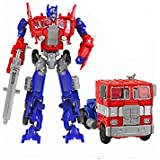 Pepperonz JBP Xpreza Transformation Deformation Robot Mode Changeable Toy For Kids (Red, Blue)