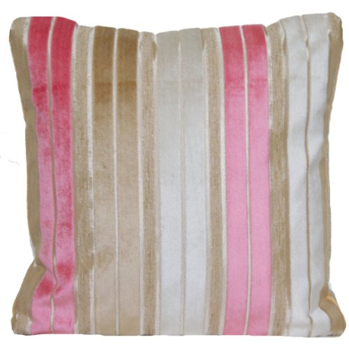 Striped Velvet Decorative Pillow Thow Case Designers Guild P