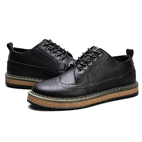 Papel De Cordones Para Hombre Zapatos Duoshengzhtg Negro tw1Zw