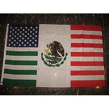 amazon   3x5 feet usa mexico combination flag mexican