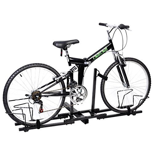 - 2 Bike Bicycle Carrier Hitch Receiver 2'' Heavy Duty Mount Rack Truck SUV