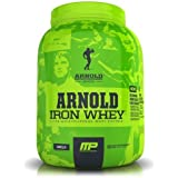 Muscle Pharm Arnold Schwarzenegger Series Iron Whey, Vanilla, 5 Pound
