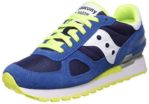 Saucony Herenschoenen Originelen Shadow Blue / Yellow Sneaker Lente Zomer 2018 Blu