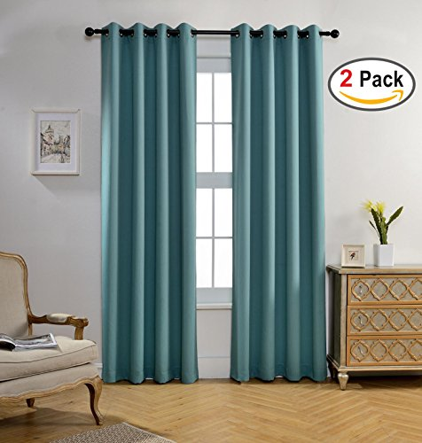 Miuco Darkening Curtains Textured Insulated product image