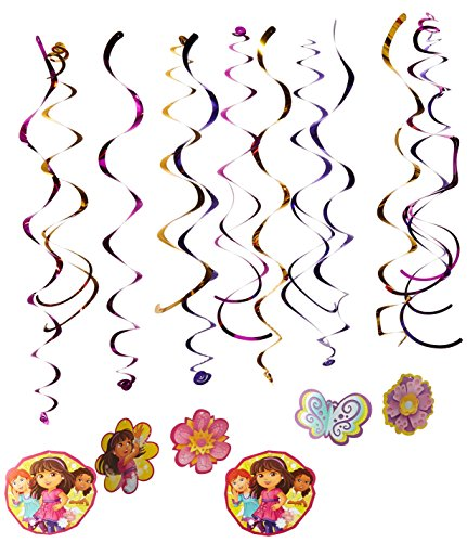 Amscan Dora and Friends Swirl -