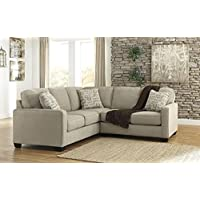 Ashley Alenya 2 Pc Sectional w/ Right Arm Facing Loveseat, Left Arm Facing Sofa