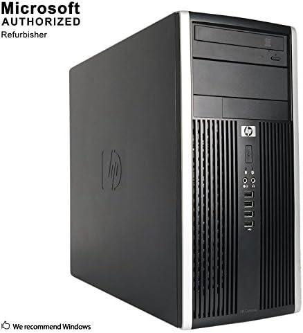 HP Pro Tower Computer - Intel Quad Core i5 3.1GHz, 16GB RAM, 2TB Hard Drive, Microsoft Windows 10 Professional, Microsoft Office 365 Personal, DVD, Keyboard, Mouse, WiFi, Refurbished PC (Renewed)