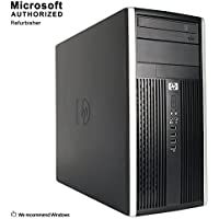 2018 HP Compaq 6200 Pro TW Desktop,Intel Core Intel Core I5-2400 up to 3.4G,12G DDR3, 240G SSD,DVD,WiFi,HDMI,VGA,DP Port,BT 4.0,Win10Pro64 (Certified Refurbished)-Support-English/Spanish