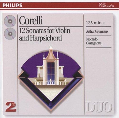 Corelli: 12 Sonatas for violin & - Corelli Violin