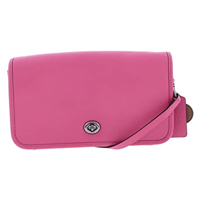 COACH Women s Wholesale Glvt Turnlock Crossbody Dk Dahlia Crossbody Bag   Handbags  Amazon.com cfb21f5ff5b81