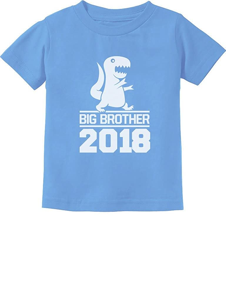 TeeStars - T-Rex Boy Gift Big Brother 2018 Toddler/Infant Kids T-Shirt GtPh0P0gm5