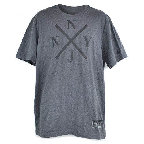 Nike NFL SBGP Super Bowl XLVIII Men's T-Shirt Xing Charcoal 31491X-CHA (Size ()