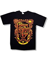 Allman Brothers Band Frame 40th Beacon NYC 2009 Shows Black T Shirt