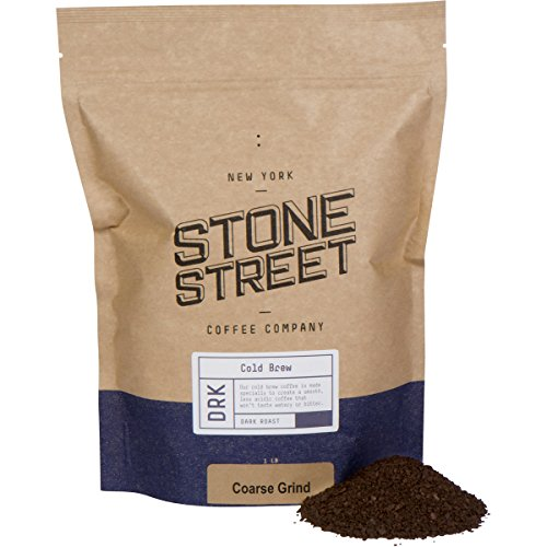 Dia Well (Stone Street Coffee Cold Brew Reserve Colombian Single Origin Coarsely Ground Coffee - 1 lb. Bag - Dark Roast)