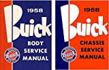 1958 BUICK FACTORY CHASSIS & BODY REPAIR SHOP & SERVICE MANUAL Includes: Series 40 Special, Series 60 Century, Series 50 Super, Series 75 Roadmaster, and Series 700 Limited GUIDE 58