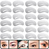 Best Eyebrow Shapes - KINGMAS 24 pcs Eyebrow Stencils Reusable Eyebrow Drawing Review