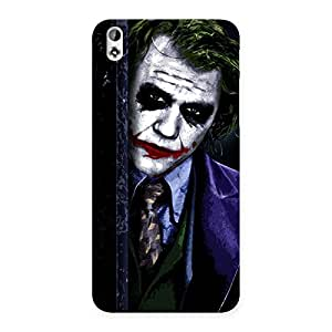Enticing Joke Sneeking Multicolor Back Case Cover for HTC Desire 816