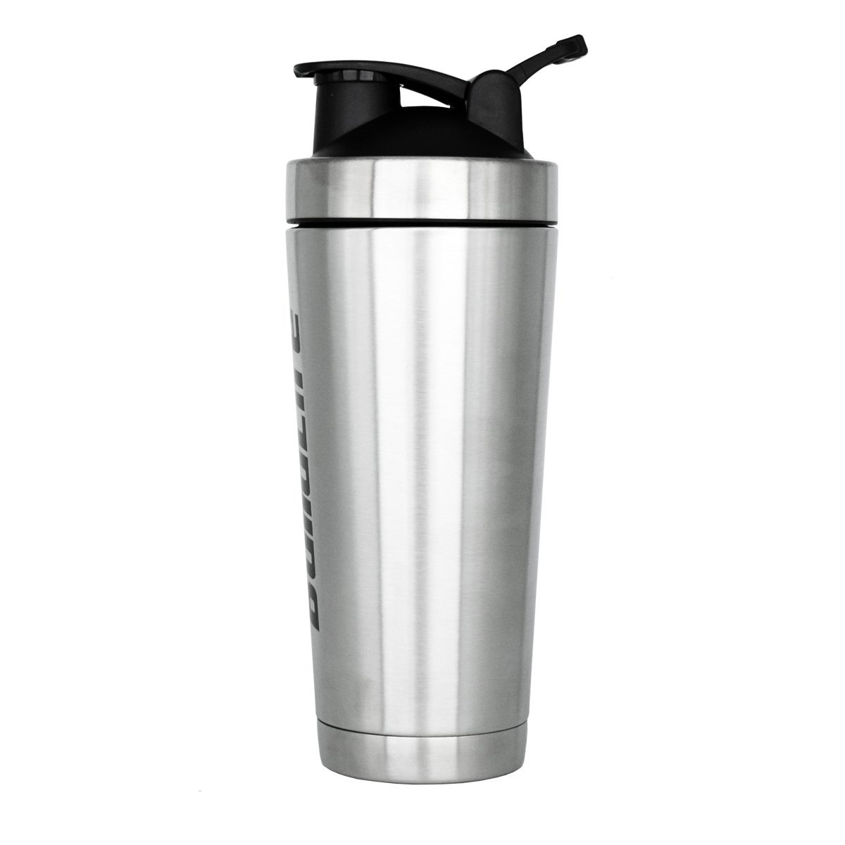 Nutrition - Botella de agua de acero inoxidable con aislante para batidora de proteínas con bola de acero inoxidable, para fitness y deportes: Amazon.es: ...