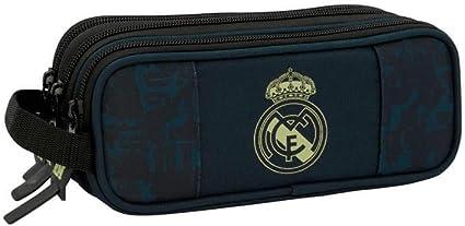 Real Madrid CF 811934635 Estuche, Niños Unisex, Negro: Amazon.es: Juguetes y juegos