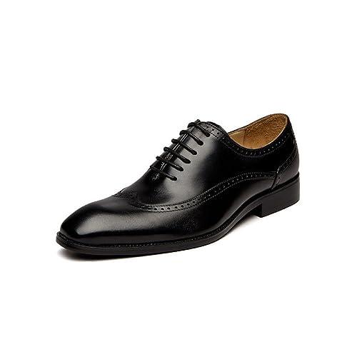 Zapatos De Cuero Para Hombres Trajes De Negocios Zapatos con ...