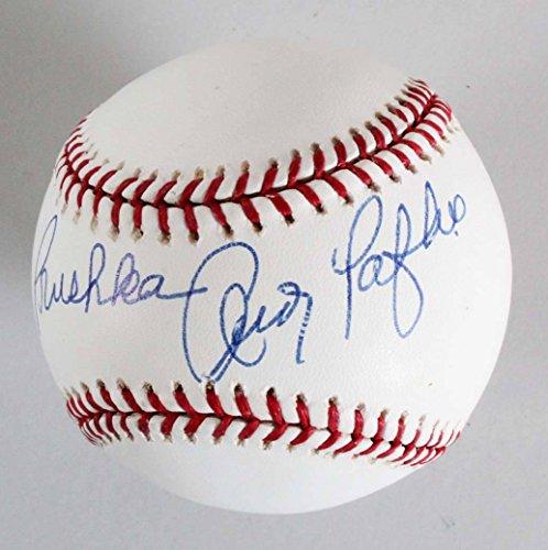 Andy Pafko Signed Baseball Cubs - COA JSA