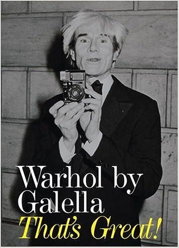 Warhol by Galella: Thats Great!: Amazon.es: Galella, Ron ...