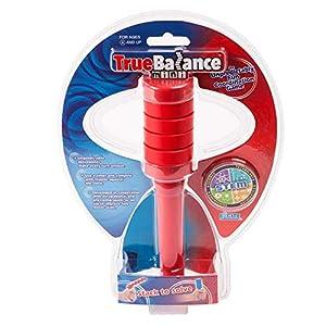 TrueBalance Coordination Game Balance Toy for Adults and Kids   Improves Fine Motor Skills (Mini Blue)