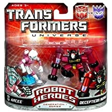 Transformers: Robot Heroes Generation 1 Series > Arcee & Decepticon Rumble Action Figure 2-Pack