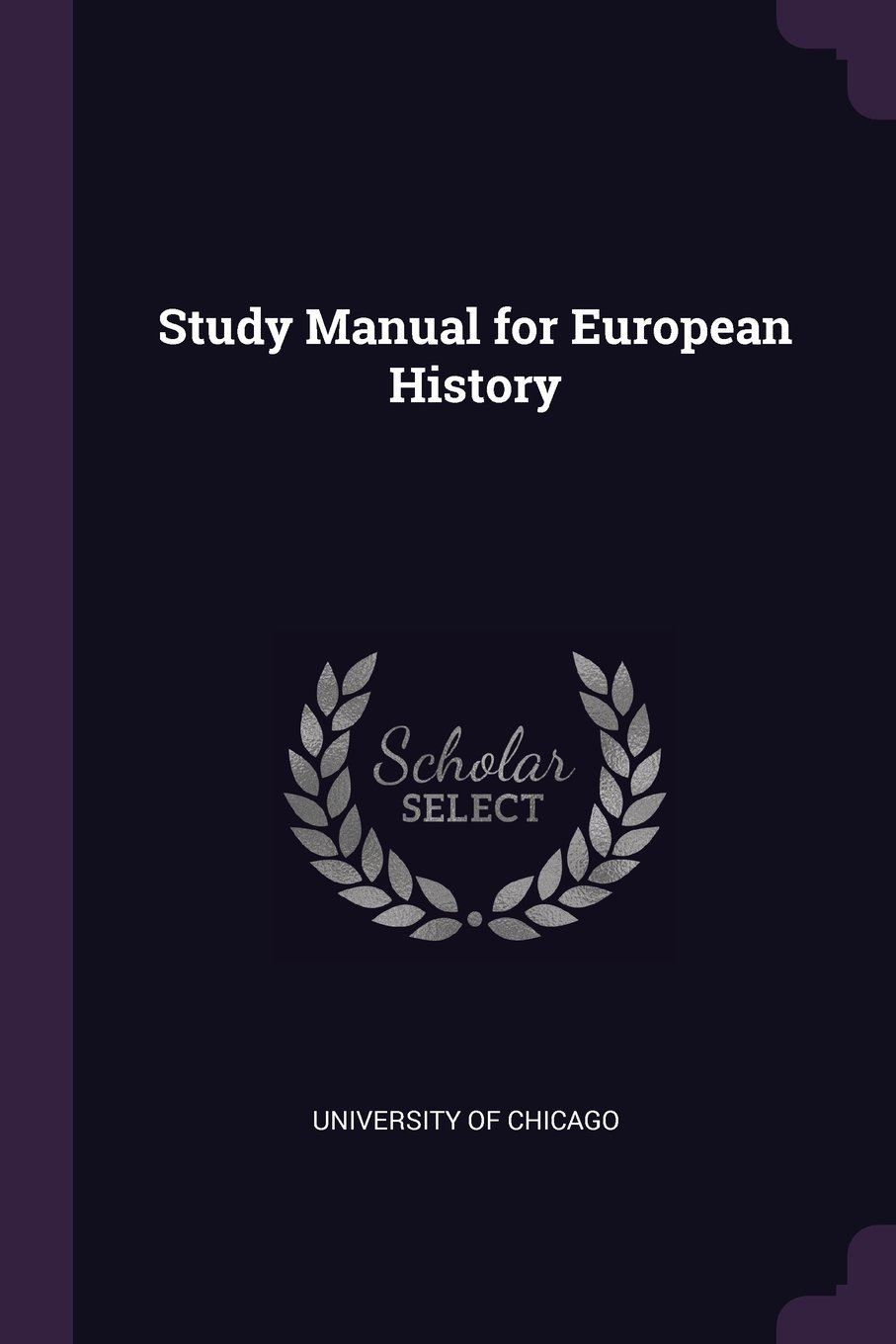 Download Study Manual for European History pdf