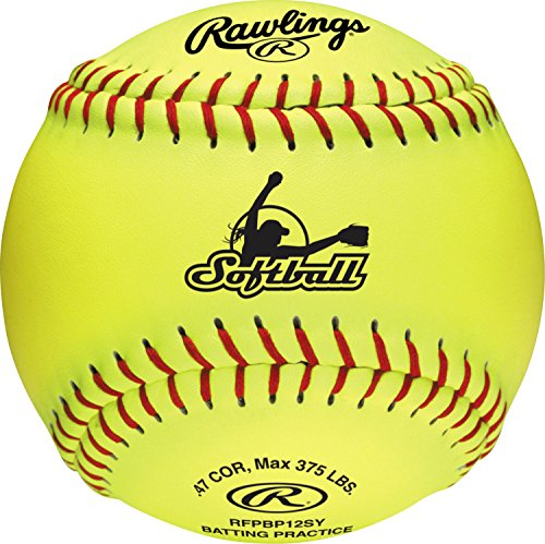 Rawlings Official Canada Softball, 12 Count, RFPBP12SY by Rawlings