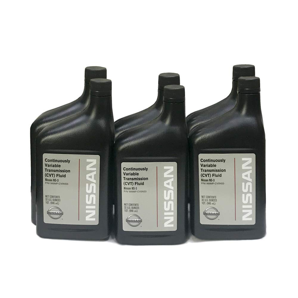 Nissan Genuine OEM NS3 Transmission Fluid - 999MP-CV0NS3-6 Quarts
