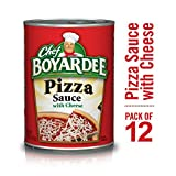 Chef Boyardee Pizza Sauce with Cheese, 15 oz, 12 Pack