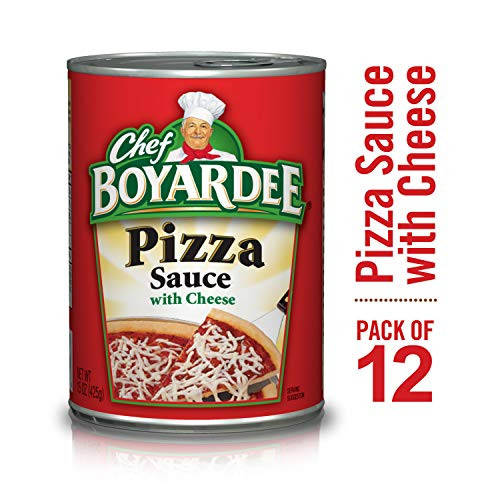 Chef Boyardee Pizza Kits - Chef Boyardee Pizza Sauce with Cheese, 15 oz, 12 Pack