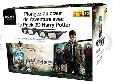 Pack-3D TDG BR250 (x2) Harry Potter: Amazon.es: Electrónica