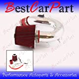 00 01 02 03 04 05 Toyota Celica Gt 1.8 Vvti Short Ram Intake Red (Included Air Filter) #Sr-ty004r