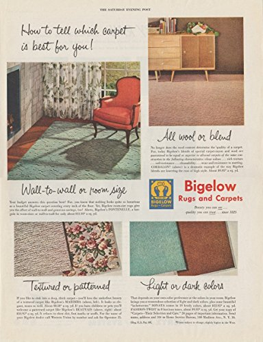 Rug 1952 (1952 BIGELOW RUGS & CARPETS