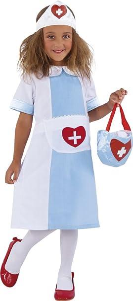Rubies - Nursy, disfraz de enfermera para niños (S8315-L): Amazon ...