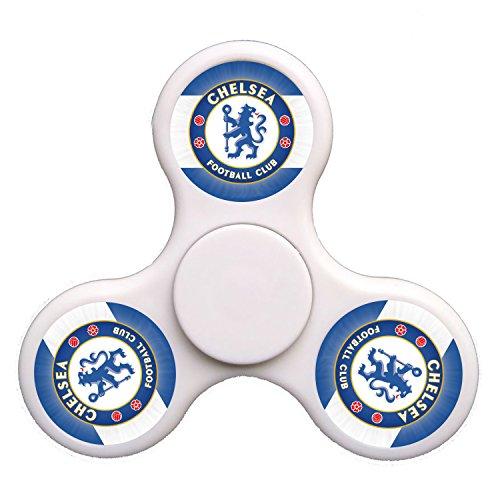Hunter Hut Chelsea Football Club -White,Hand Spinner Toy for Killing Time,Stress Reducer Relieve Anxiety and Boredom